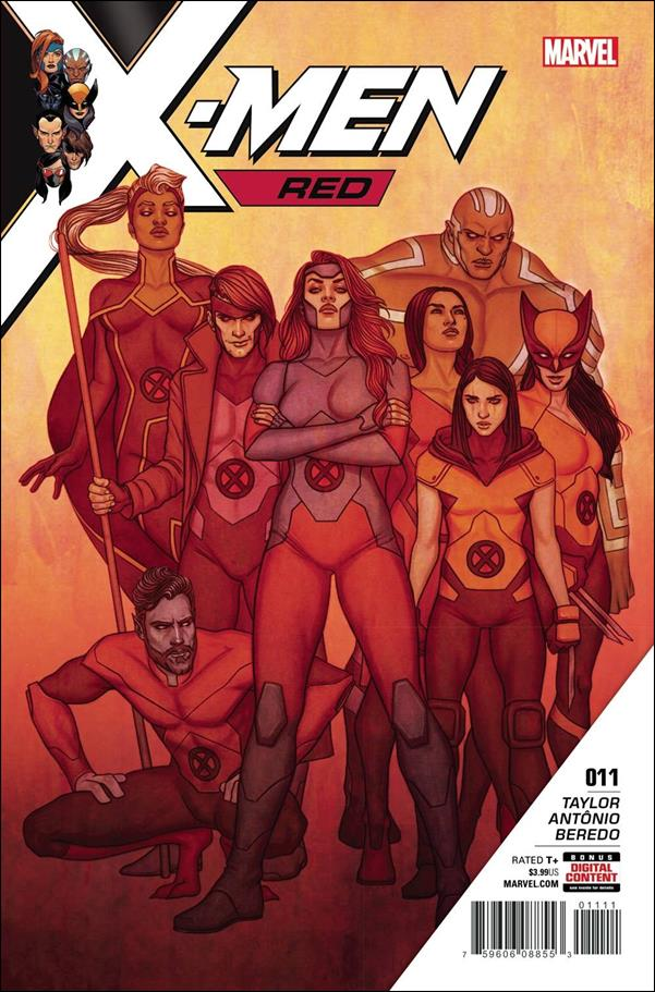 X-Men: Red 11-A by Marvel