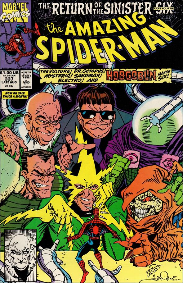 Amazing Spider-Man (1963) 337-A by Marvel