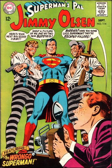 Superman's Pal Jimmy Olsen 114-A by DC