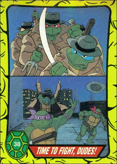 Teenage Mutant Ninja Turtles: Series 1 (Base Set) 38-A by Topps