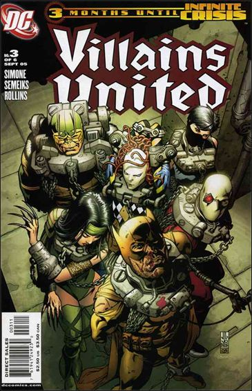 Villains United 3-A by DC