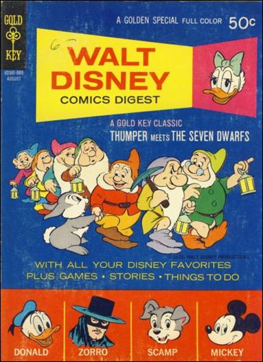 Walt Disney Comics Digest 24-A by Gold Key