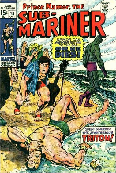 Sub-Mariner (1968) 18-A by Marvel