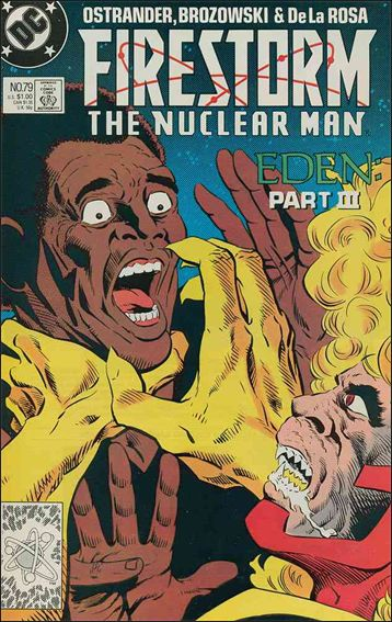 Firestorm The Nuclear Man (1987) 79-A by DC