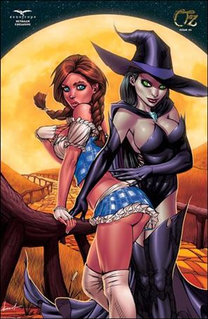 Grimm Fairy Tales Presents Oz 5-E