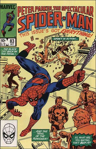 Spectacular Spider-Man (1976) 83-A by Marvel