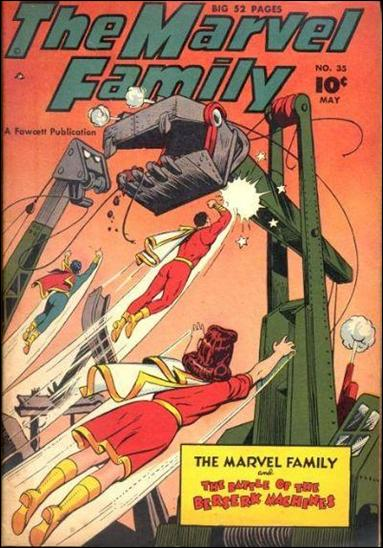 Marvel Family 35-A by Fawcett