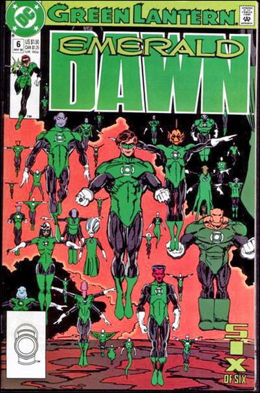 Green Lantern: Emerald Dawn 6-A by DC