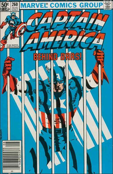 Captain America (1968) 260-A by Marvel