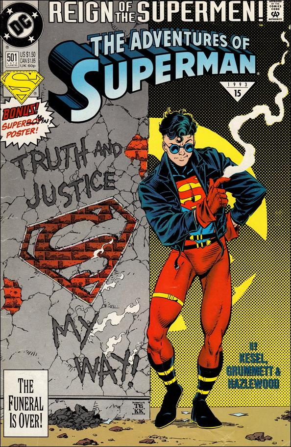 Adventures of Superman (1987) 501-BB by DC