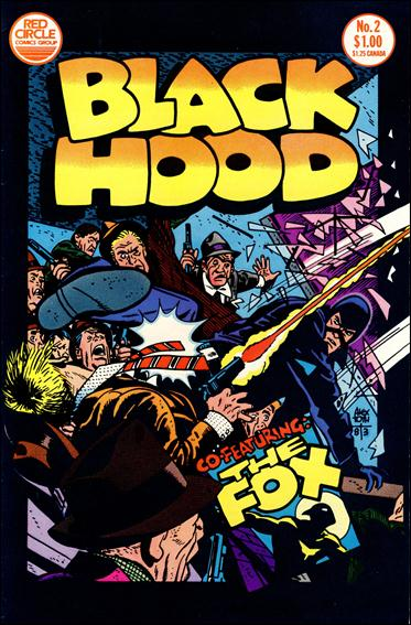 Black Hood (1983) 2-A by Red Circle