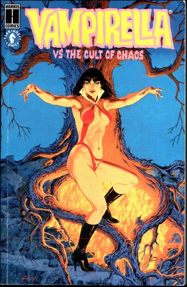 Vampirella vs the Cult of Chaos 1-A by Harris