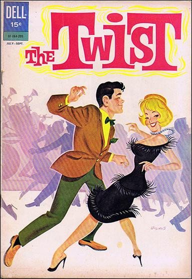 Twist (1962) 1-A by Dell