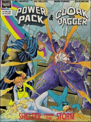 Marvel Graphic Novel: Cloak & Dagger and Power Pack: Shelter from the Storm nn-A by Marvel
