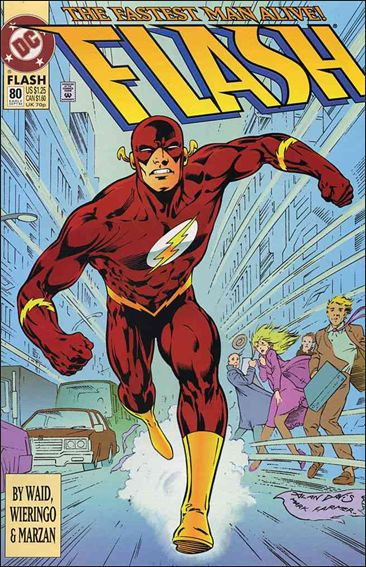 Flash (1987) 80-A by DC