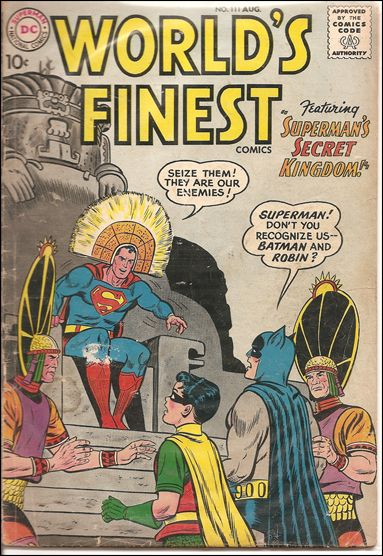 World's Finest Comics 111-A by DC