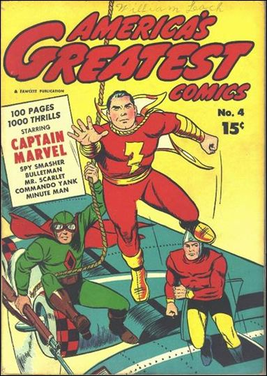 America's Greatest Comics (1941) 4-A by Fawcett