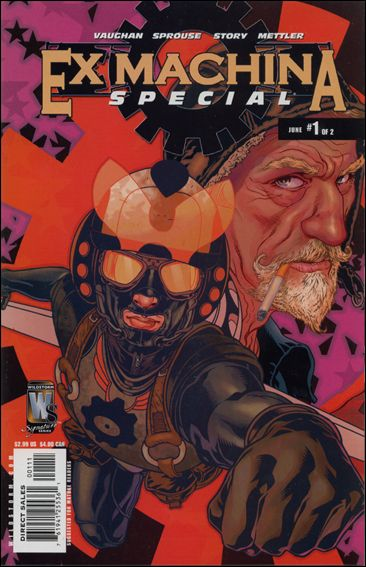 Ex Machina Special 1-A by WildStorm