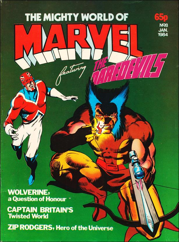 Mighty World of Marvel (UK) (1983) 8-A by Marvel UK