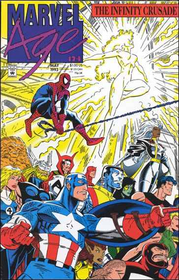 Marvel Age 124-A by Marvel