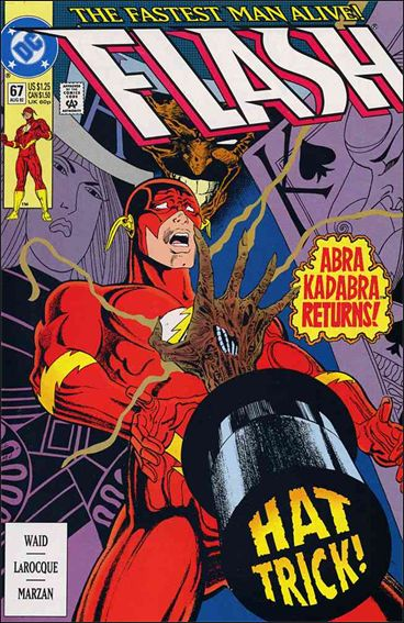 Flash (1987) 67-A by DC