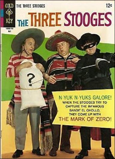 Three Stooges (1960) 34-A by Gold Key