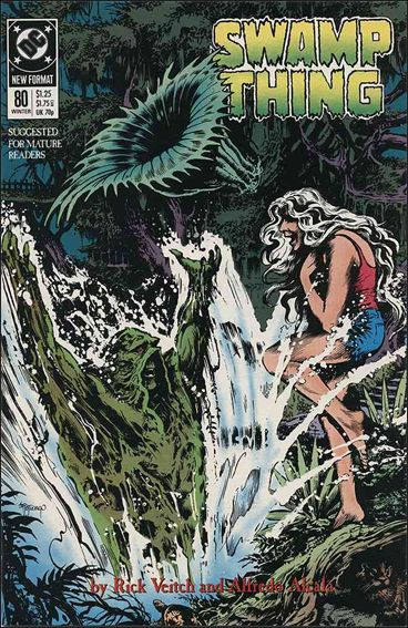 Swamp Thing (1986) 80-A by Vertigo