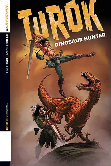 Turok: Dinosaur Hunter (2014) 5-A by Dynamite Entertainment