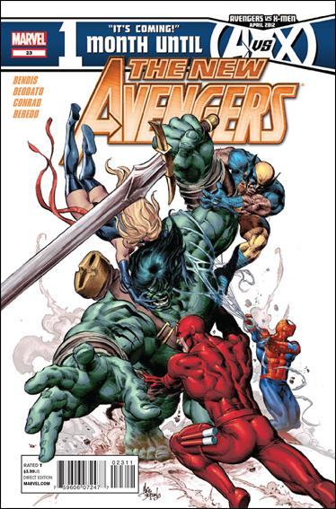 New Avengers (2010) 23-A by Marvel