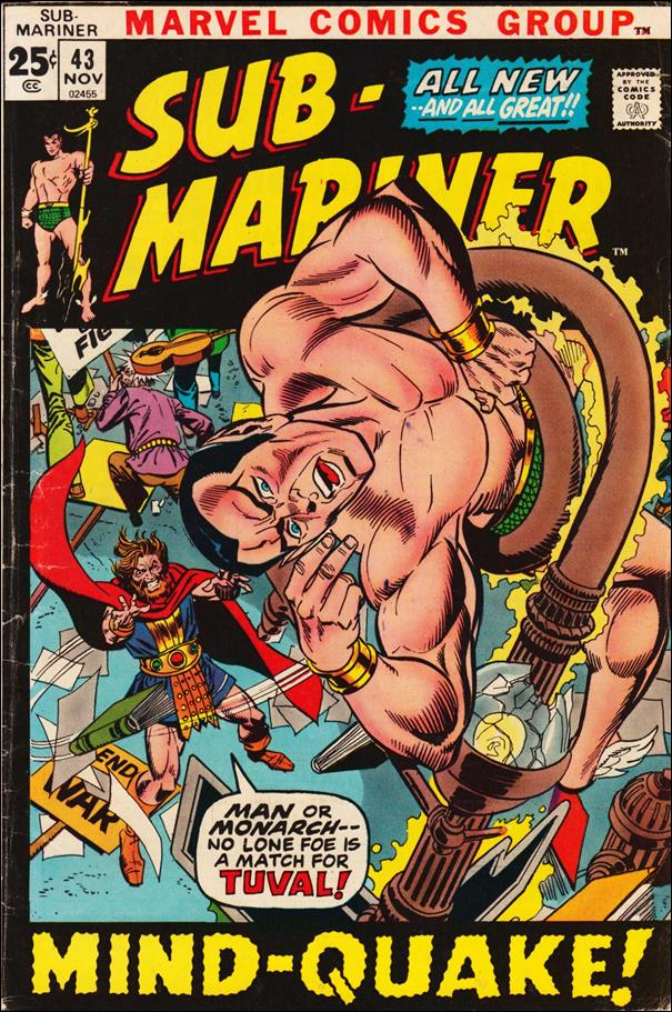 Sub-Mariner (1968) 43-A by Marvel