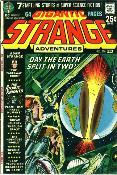 Strange Adventures (1950) 228-A by DC