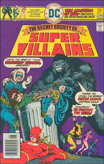 Secret Society of Super-Villains 1-A by DC