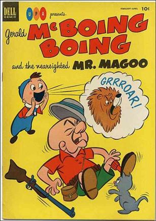 Gerald McBoing Boing and the Nearsighted Mr. Magoo 3-A
