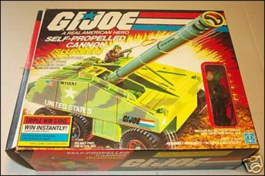 "G.I. Joe: A Real American Hero 3 3/4"" Basic Vehicles and Playsets Slugger (Self-Propelled Cannon) by Hasbro"