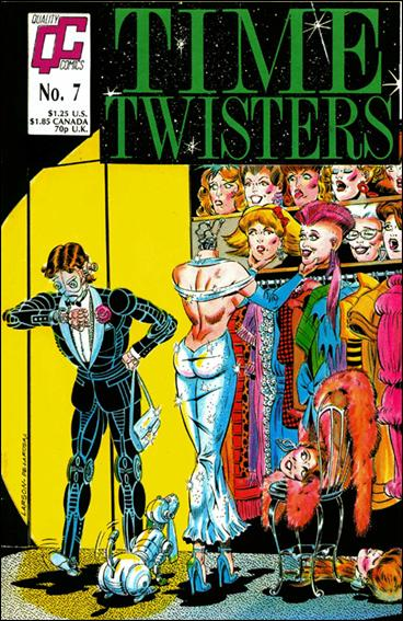 Time Twisters 7-A by Quality Comics