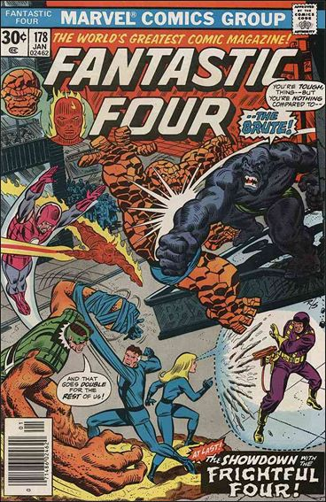 Fantastic Four (1961) 178-A by Marvel