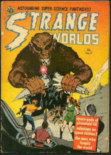 Strange Worlds (1950) 7-A by Avon