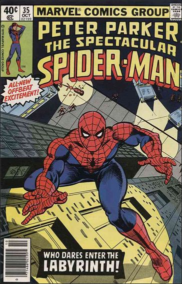Spectacular Spider-Man (1976) 35-A by Marvel