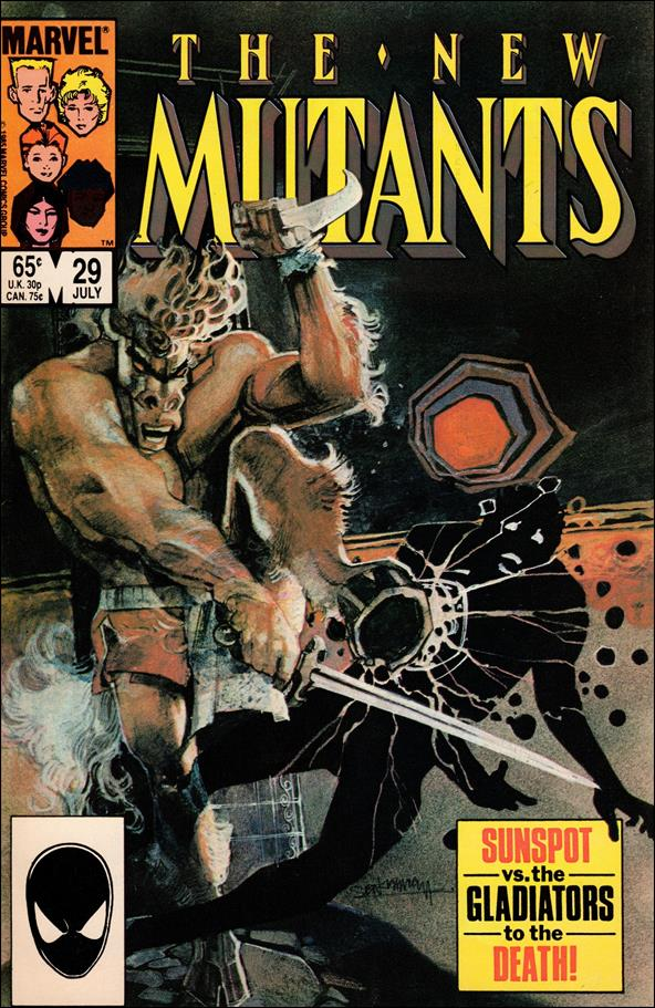 New Mutants (1983) 29-A by Marvel