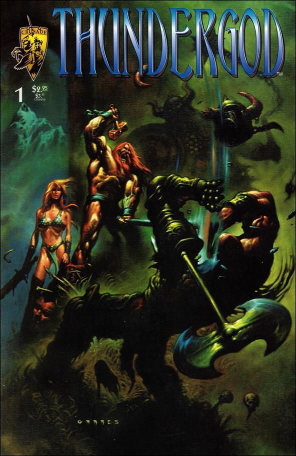Thundergod (1996) 1-A by Crusade