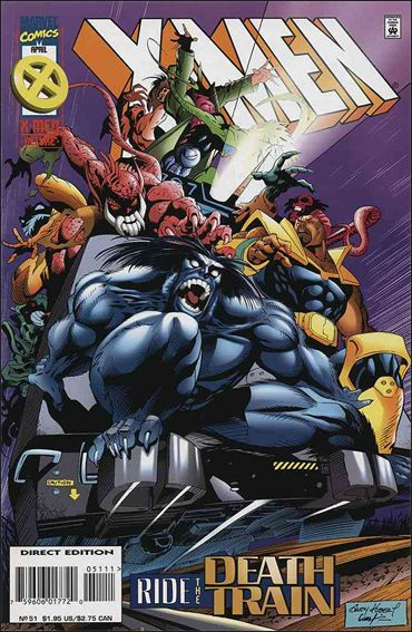 X-Men (1991) 51-A by Marvel