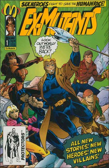 Ex-Mutants (1992) 1-A by Malibu