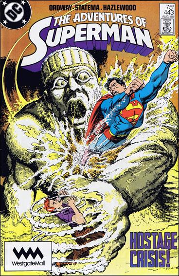 Adventures of Superman (1987) 443-B by DC