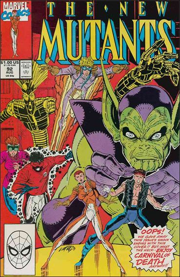 New Mutants (1983) 92-A by Marvel