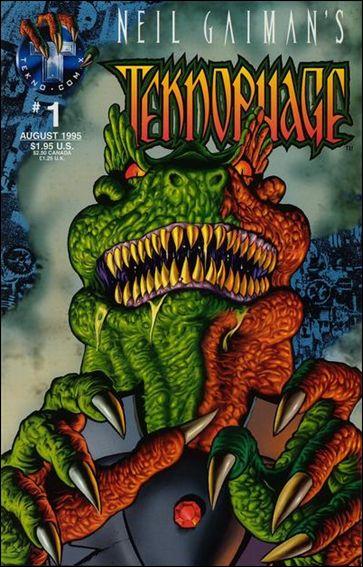 Neil Gaiman's Teknophage 1-A by Tekno•Comix
