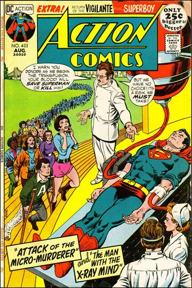 Action Comics (1938) 403-A by DC