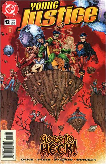 Young Justice (1998) 12-A by DC