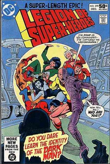 Legion of Super-Heroes (1980) 270-A by DC