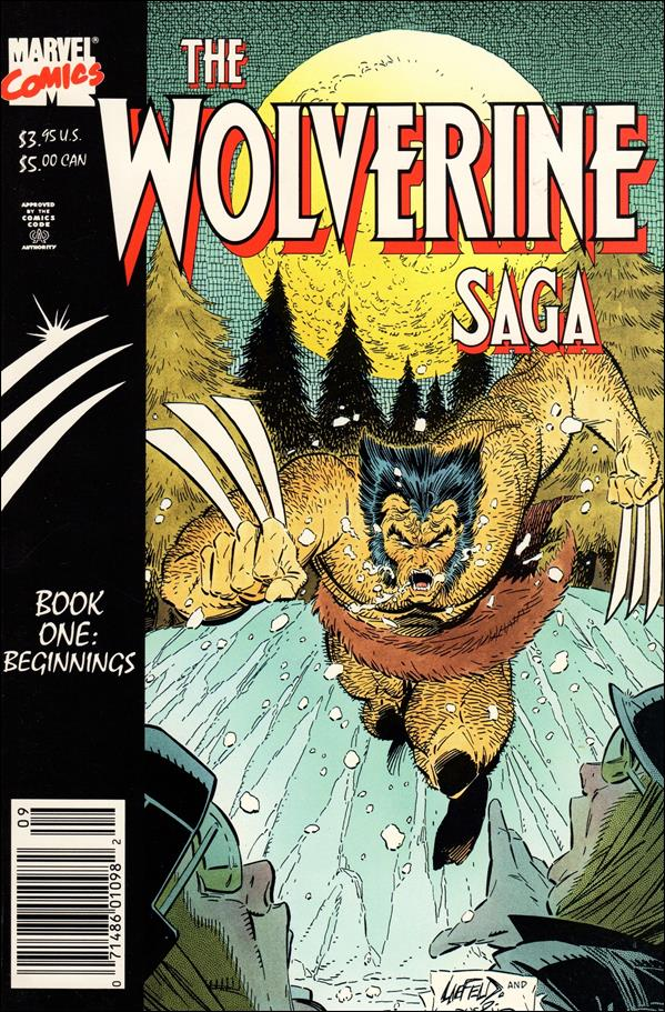 Wolverine Saga (1989) 1-A by Marvel