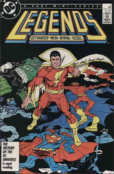 Legends (1986) 5-A by DC